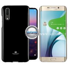 Mercury Jelly dėklas nugarėlė Samsung Galaxy S6 edge+ telefonui juodos spalvos Vilnius | Palanga | Plungė