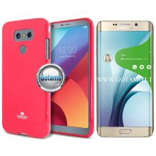 Mercury Jelly dėklas nugarėlė Samsung Galaxy S6 edge+ telefonui tamsiai rožinės spalvos Klaipėda | Kaunas | Klaipėda