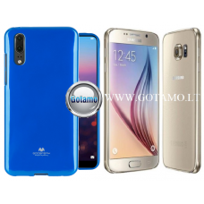 Mercury Jelly dėklas nugarėlė Samsung Galaxy S6 telefonui mėlynos spalvos Telšiai | Kaunas | Vilnius
