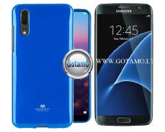 Mercury Jelly dėklas nugarėlė Samsung Galaxy S7 telefonui mėlynos spalvos