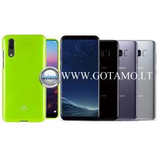 Mercury Jelly dėklas nugarėlė Samsung Galaxy S8 telefonui salotinės spalvos Telšiai | Vilnius | Šiauliai