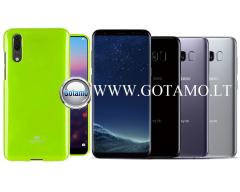 Mercury Jelly dėklas nugarėlė Samsung Galaxy S8 telefonui salotinės spalvos