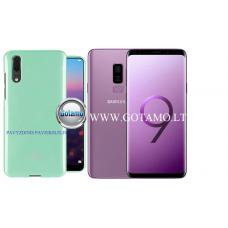 Mercury Jelly dėklas nugarėlė Samsung Galaxy S9+ telefonui mėtinės spalvos Palanga | Klaipėda | Palanga
