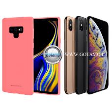 Mercury Soft Feeling dėklas nugarėlė Apple iPhone Xs Max telefonui rožinės spalvos Šiauliai | Palanga | Plungė
