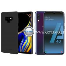 Mercury Soft Feeling dėklas nugarėlė Samsung Galaxy A40 telefonui juodos spalvos Palanga | Plungė | Plungė
