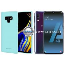 Mercury Soft Feeling dėklas nugarėlė Samsung Galaxy A40 telefonui mėtinės spalvos Klaipėda | Telšiai | Telšiai