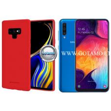 Mercury Soft Feeling dėklas nugarėlė Samsung Galaxy A50 telefonui raudonos spalvos Šiauliai | Klaipėda | Telšiai
