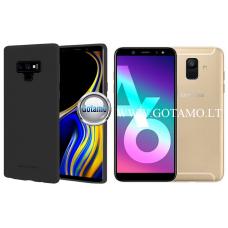 Mercury Soft Feeling dėklas nugarėlė Samsung Galaxy A6 (2018) telefonui juodos spalvos Kaunas | Plungė | Plungė