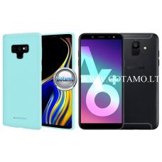 Mercury Soft Feeling dėklas nugarėlė Samsung Galaxy A6+ (2018) telefonui mėtinės spalvos Palanga | Kaunas | Šiauliai