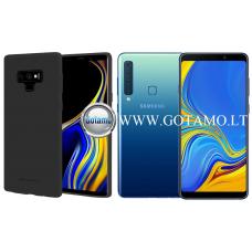 Mercury Soft Feeling dėklas nugarėlė Samsung Galaxy A9 (2018) telefonui juodos spalvos Kaunas | Telšiai | Telšiai
