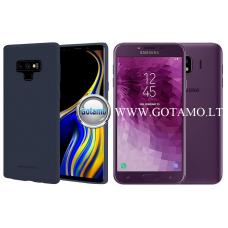 Mercury Soft Feeling dėklas nugarėlė Samsung Galaxy J4 (2018) telefonui tamsiai mėlynos spalvos Kaunas   Šiauliai   Klaipėda