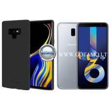 Mercury Soft Feeling dėklas nugarėlė Samsung Galaxy J6+ (2018) telefonui juodos spalvos Kaunas | Klaipėda | Palanga