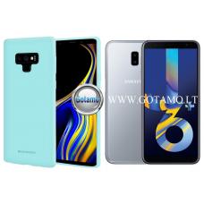 Mercury Soft Feeling dėklas nugarėlė Samsung Galaxy J6+ (2018) telefonui mėtinės spalvos Klaipėda | Klaipėda | Palanga