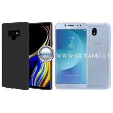 Mercury Soft Feeling dėklas nugarėlė Samsung Galaxy J7 (2017) telefonui juodos spalvos Klaipėda   Palanga   Plungė