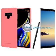 Mercury Soft Feeling dėklas nugarėlė Samsung Galaxy Note 8 telefonui rožinės spalvos