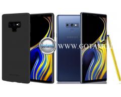 Mercury Soft Feeling dėklas nugarėlė Samsung Galaxy Note 9 telefonui juodos spalvos