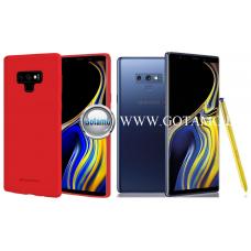 Mercury Soft Feeling dėklas nugarėlė Samsung Galaxy Note 9 telefonui raudonos spalvos Šiauliai | Palanga | Vilnius