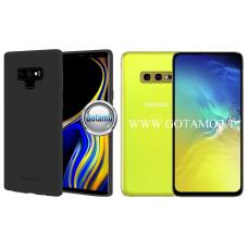 Mercury Soft Feeling dėklas nugarėlė Samsung Galaxy S10e telefonui juodos spalvos Vilnius | Palanga | Plungė