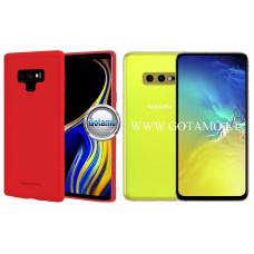 Mercury Soft Feeling dėklas nugarėlė Samsung Galaxy S10e telefonui raudonos spalvos Telšiai | Šiauliai | Šiauliai