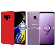 Mercury Soft Feeling dėklas nugarėlė Samsung Galaxy S9 telefonui raudonos spalvos Palanga | Kaunas | Telšiai