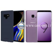 Mercury Soft Feeling dėklas nugarėlė Samsung Galaxy S9 telefonui tamsiai mėlynos spalvos Telšiai | Palanga | Kaunas
