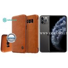 Nillkin Qin odinis dėklas Apple iPhone 11 Pro telefonui rudos spalvos Klaipėda | Šiauliai | Vilnius