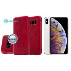 Nillkin Qin odinis dėklas Apple iPhone Xs Max telefonams raudonos spalvos Kaunas | Kaunas | Kaunas