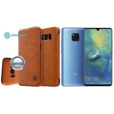 Nillkin Qin odinis dėklas Huawei Mate 20 telefonams rudos spalvos Telšiai | Telšiai | Kaunas