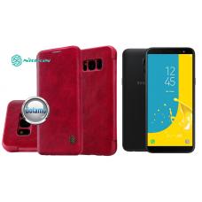 Nillkin Qin odinis dėklas Samsung Galaxy J6 (2018) telefonams raudonos spalvos Telšiai | Telšiai | Klaipėda
