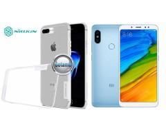 Nillkin silikoninis dėklas nugarėlė Xiaomi Redmi Note 5, Xiaomi Redmi Note 5 Pro telefonams