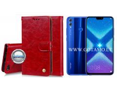 Odyssey dėklas Huawei Honor 8X telefonams raudonos spalvos