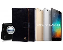 Odyssey dėklas Xiaomi Redmi 3s telefonams juodos spalvos