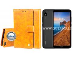 Odyssey dėklas Xiaomi Redmi 7A telefonams garstyčių spalvos