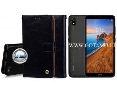Odyssey dėklas Xiaomi Redmi 7A telefonams juodos spalvos
