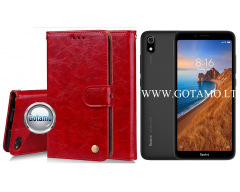 Odyssey dėklas Xiaomi Redmi 7A telefonams raudonos spalvos