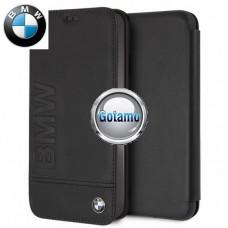 Originalus BMW dėklas knygelė Signature Apple iPhone Xs Max telefonams juodos spalvos