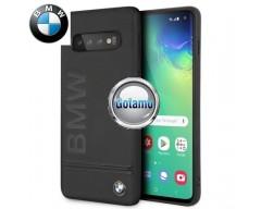 Originalus BMW dėklas nugarėlė Signature Samsung Galaxy S10 telefonams juodos spalvos