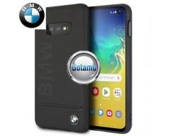 Originalus BMW dėklas nugarėlė Signature Samsung Galaxy S10e telefonams juodos spalvos