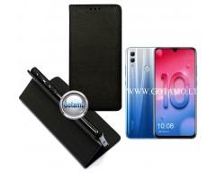 Re-Grid magnetinis dėklas Huawei Honor 10 Lite telefonams juodos spalvos