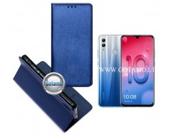 Re-Grid magnetinis dėklas Huawei Honor 10 Lite telefonams mėlynos spalvos