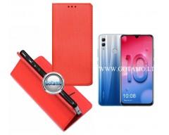 Re-Grid magnetinis dėklas Huawei Honor 10 Lite telefonams rožinės spalvos