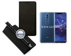 Re-Grid magnetinis dėklas Huawei Mate 20 Lite telefonams juodos spalvos