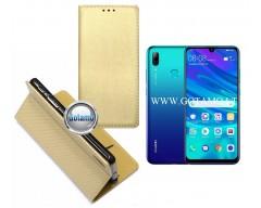 Re-Grid magnetinis dėklas Huawei P Smart (2019) telefonams aukso spalvos