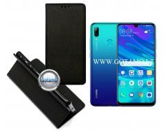 Re-Grid magnetinis dėklas Huawei P Smart (2019) telefonams juodos spalvos