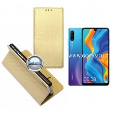 Re-Grid magnetinis dėklas Huawei P30 Lite mobiliesiems telefonams aukso spalvos Klaipėda | Klaipėda | Plungė
