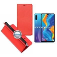 Re-Grid magnetinis dėklas Huawei P30 Lite mobiliesiems telefonams raudonos spalvos Vilnius | Telšiai | Vilnius