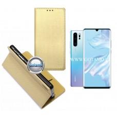 Re-Grid magnetinis dėklas Huawei P30 Pro telefonams aukso spalvos Plungė | Telšiai | Klaipėda