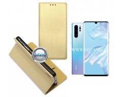 Re-Grid magnetinis dėklas Huawei P30 Pro telefonams aukso spalvos