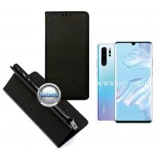 Re-Grid magnetinis dėklas Huawei P30 Pro telefonams juodos spalvos