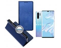 Re-Grid magnetinis dėklas Huawei P30 Pro telefonams mėlynos spalvos